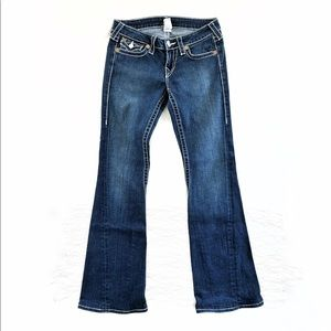 True Religion Joey Big T Twisted Flare Jeans 28